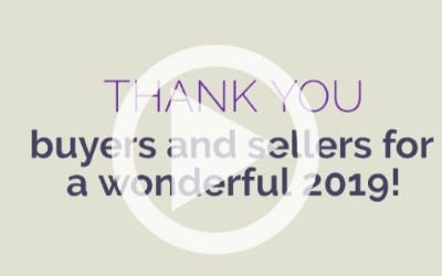 Thank You, Buyers and Sellers!