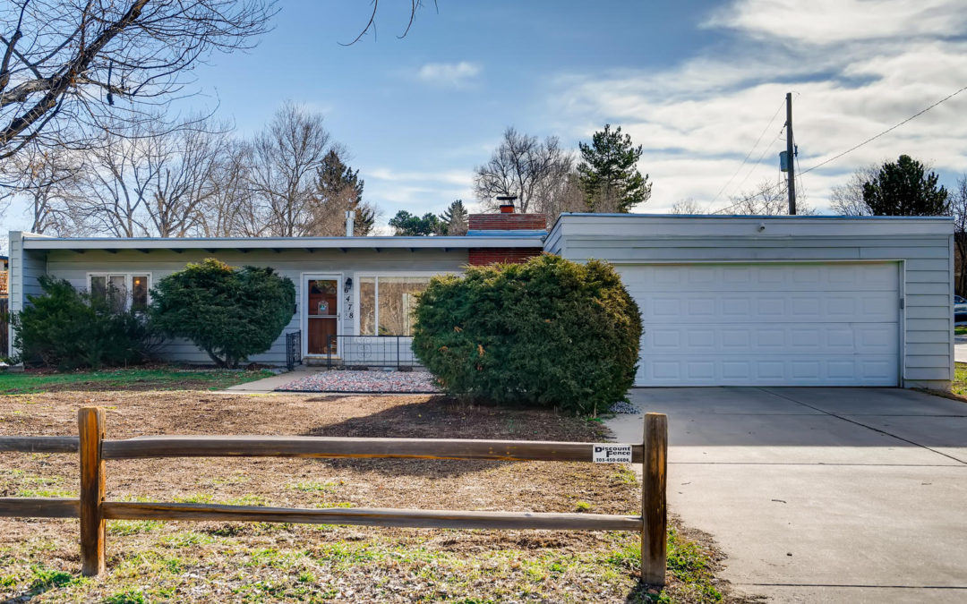 Sold: Mid-Century Modern Home in Old Town Littleton area.