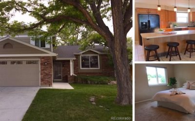 Listed: 4 Beds & 2 Baths in Centennial