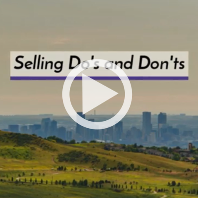 Selling Do's and Don'ts