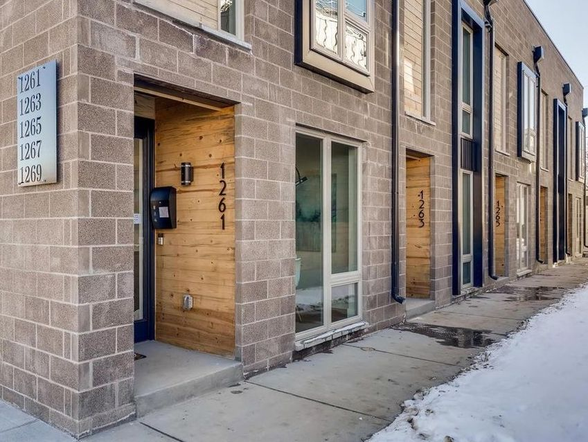 Sold: Stunning row home in West Colfax